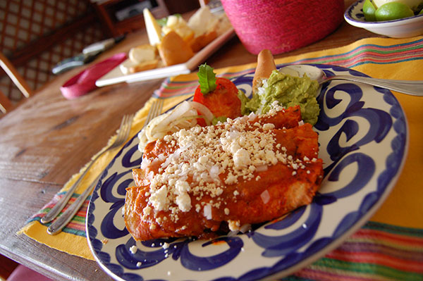 carnitas enchiladas