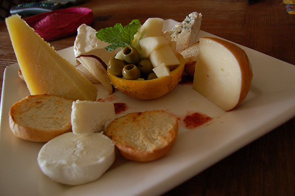Mexican Cheese platter