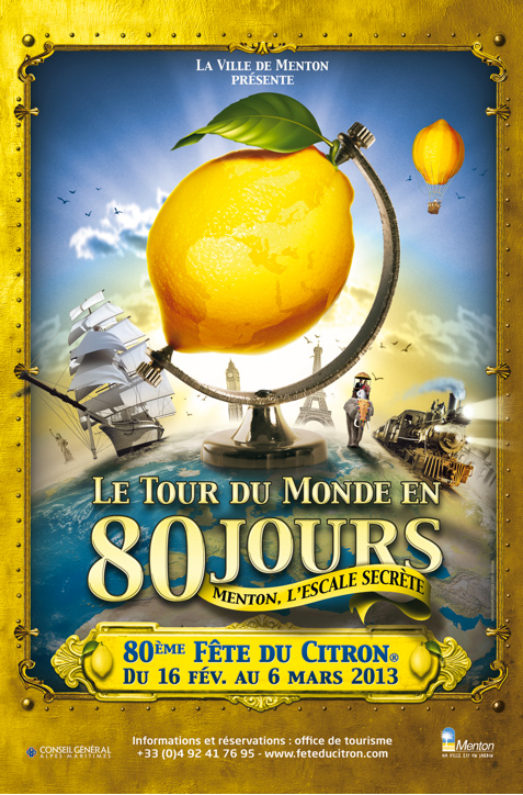 Fete Du Citron - Lemon Festival in Menton France