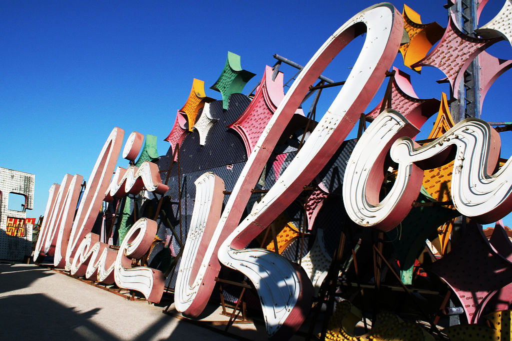 Moulin Rouge neon sign Neon Museum