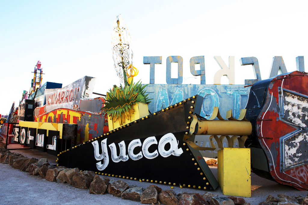 yucca neon sign