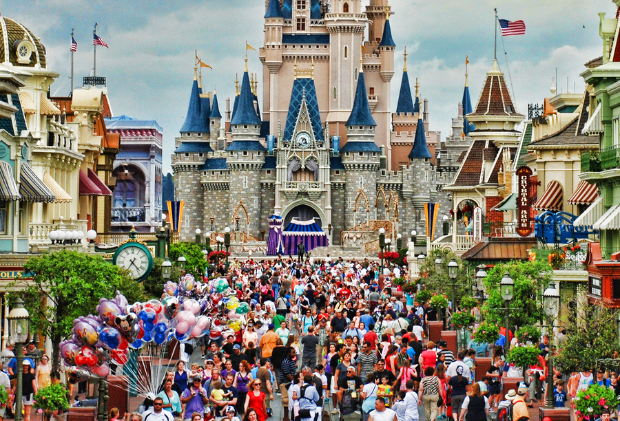 We Decided To Venture Off The Theme Park Capital Of World For Spring Break This Year Maybe I Was Crazy Go During Busiest Time