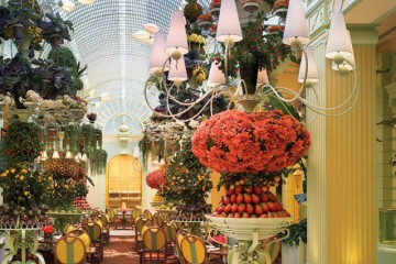 The buffet at the Wynn Las Vegas