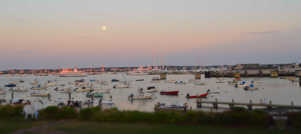 Nantucket Marina view