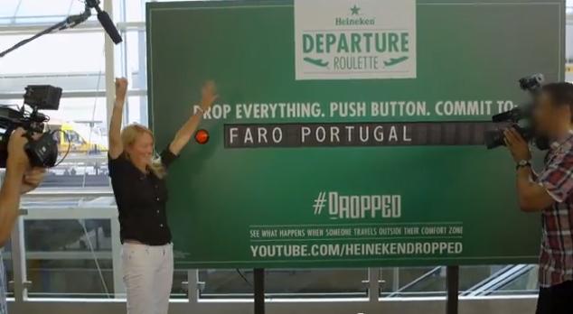 wanderlust Heineken Departure Roulette estination Portugal