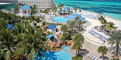 Pool view Sheraton Nassau Resort and Casino at Cable Beach