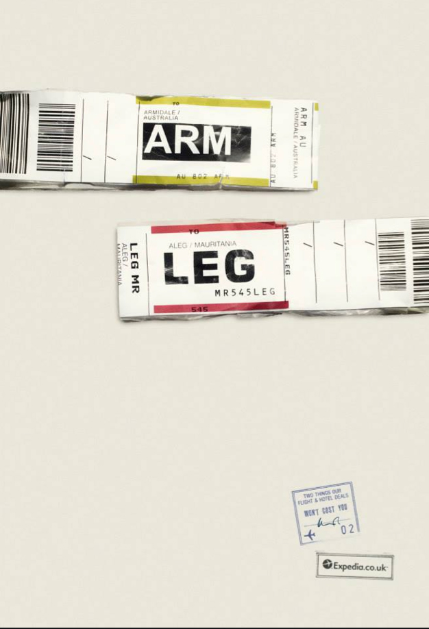 Expedia Ad Campaign Airports codes ARM LEG