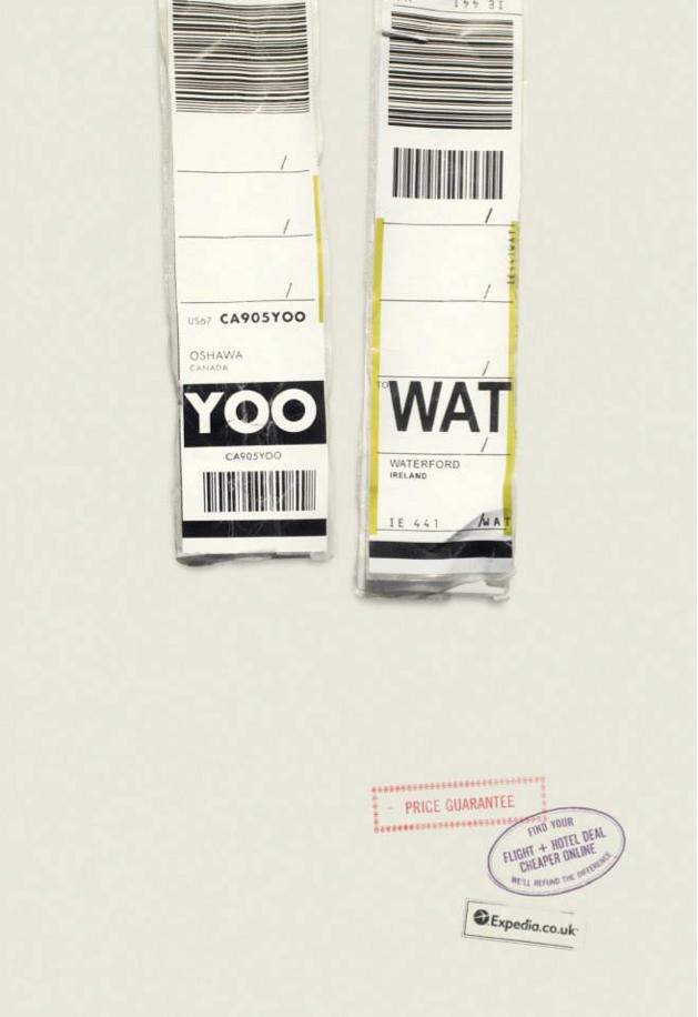 Expedia Ad Campaign Airports codes YOO WAT