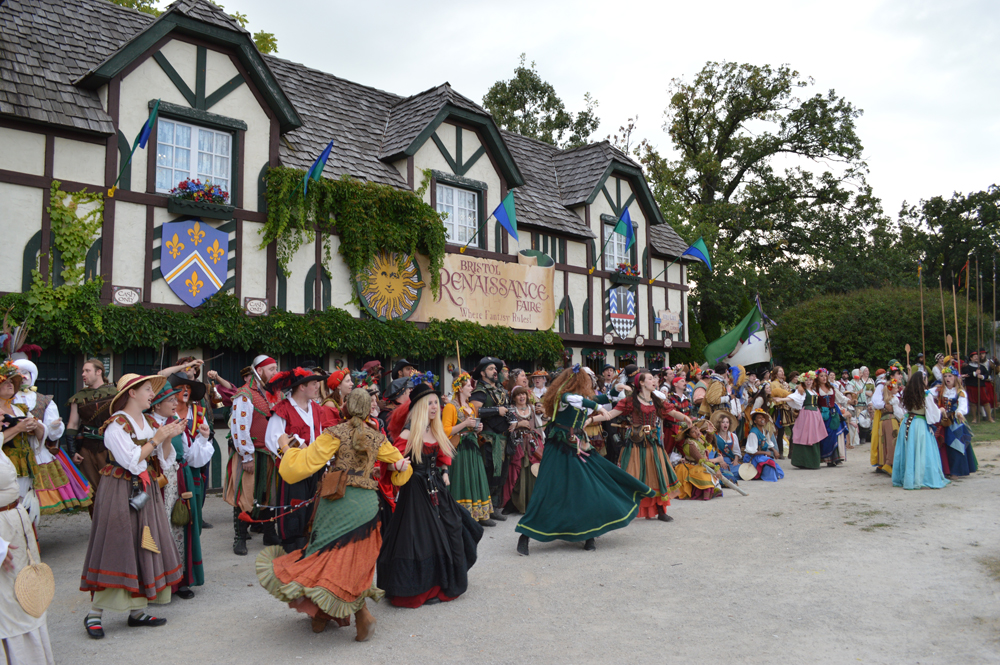 The Bristol Renaissance Faire is all about the Queen Lords