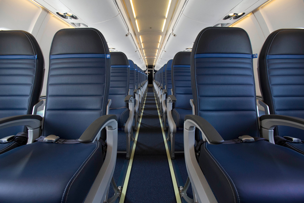 Economy Class Seats in United Airlines