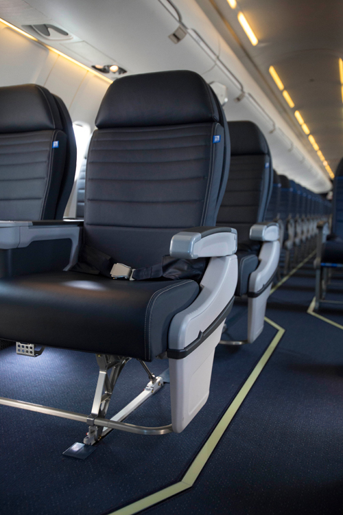 United Airlines seats - First Class