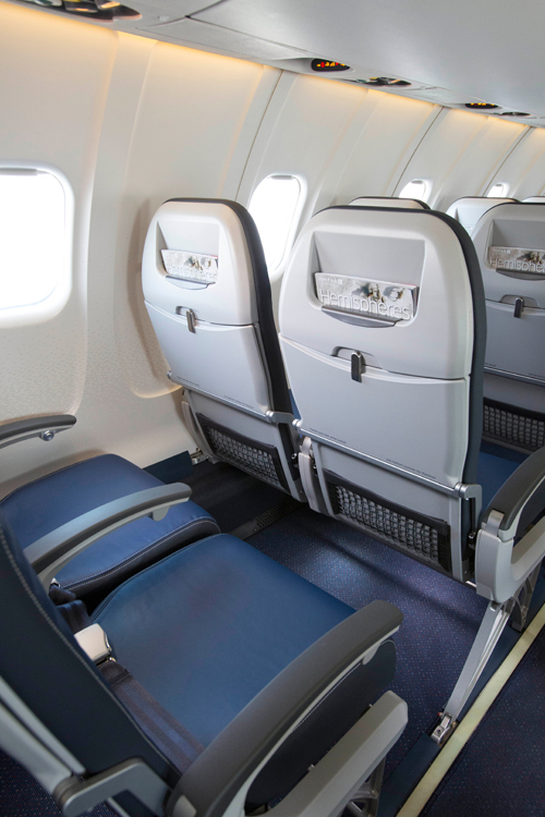 united airlines seats -  Economy Class