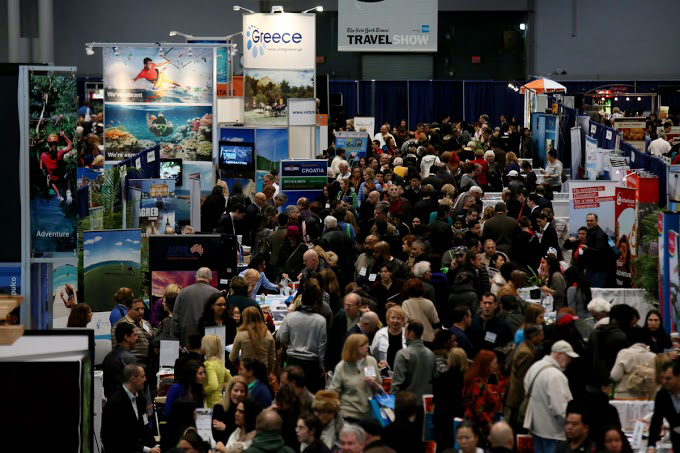 new york times travel show people