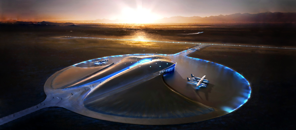 Space Port America - Virgin Galactic
