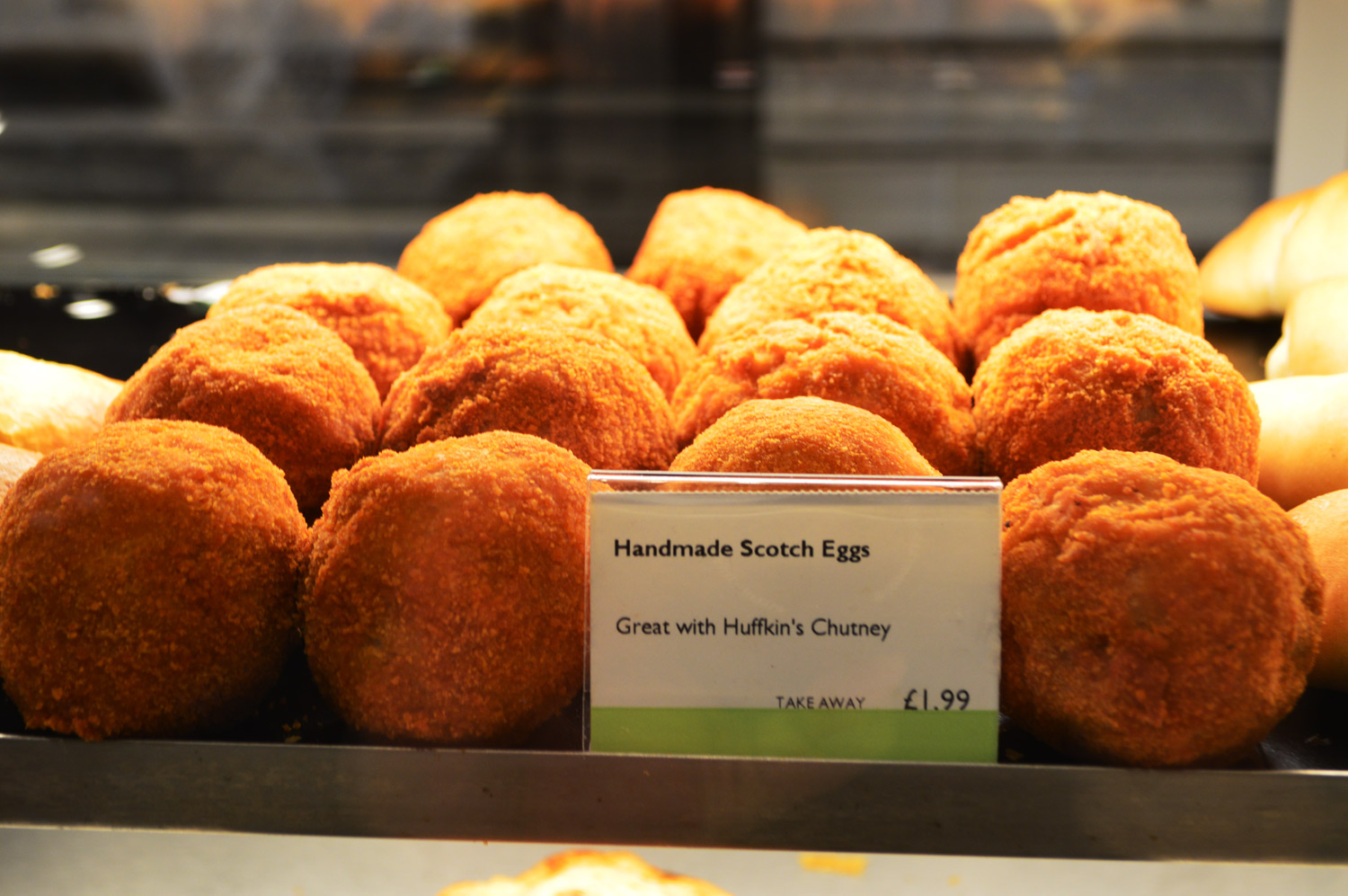 Scotch Eggs during my quick stop in Stow-on-the-Wold in the Cotswolds
