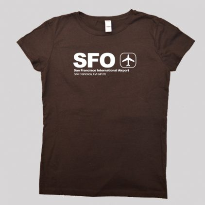 SFO-brown-tshirt-men