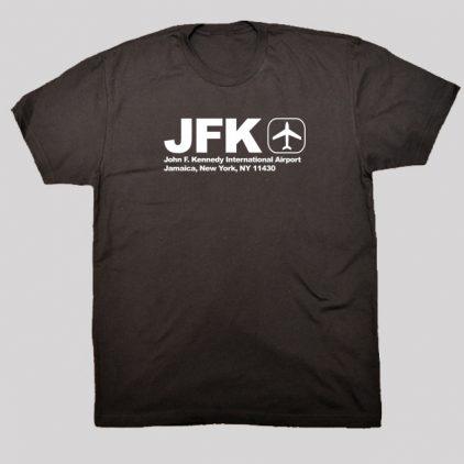 jfk-black-tshirt-men