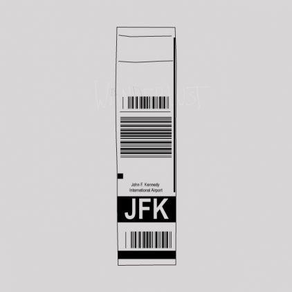 JFK airport Tag