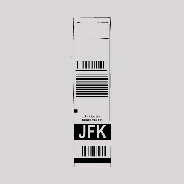 JFK airport Tag