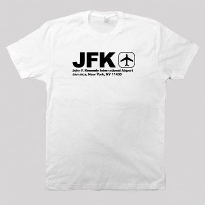 jfk-white-tshirt-men