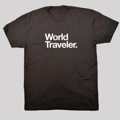 world traveler shirt black