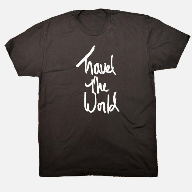 Travel the World Shirt lack men