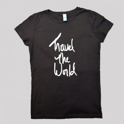 Travel the World Shirt black