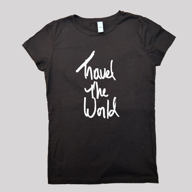 Travel the World Shirt black