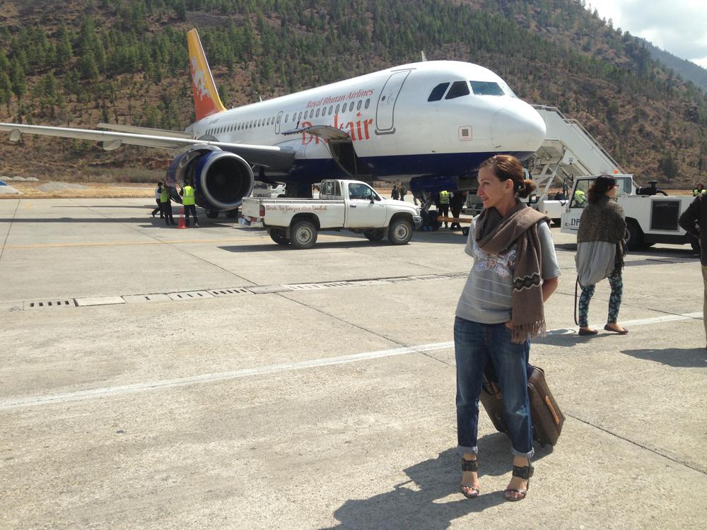 Cynthia Rowley in Bhutan