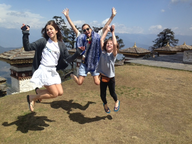 Cynthia Rowley and Kids see the Himalayas