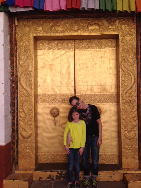 Cynthia Rowley in Bhutan