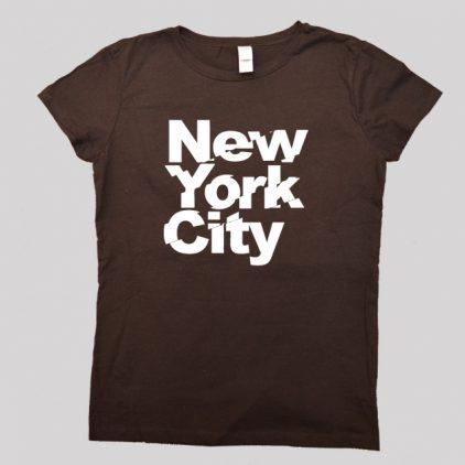 Newyork-brown-tshirts