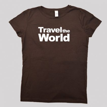 travel-the-world-brown-tshirt