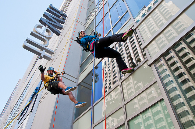 Rappel Down - Plunge Image at TheWit Chicago