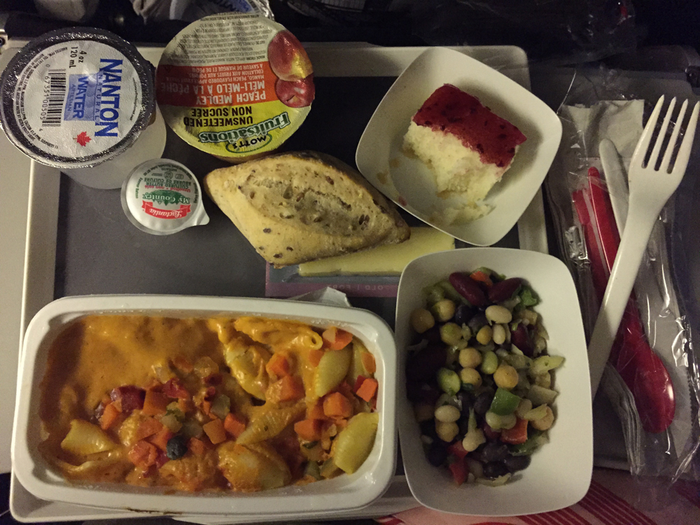 Airfrance 351 Meal Travel Insider