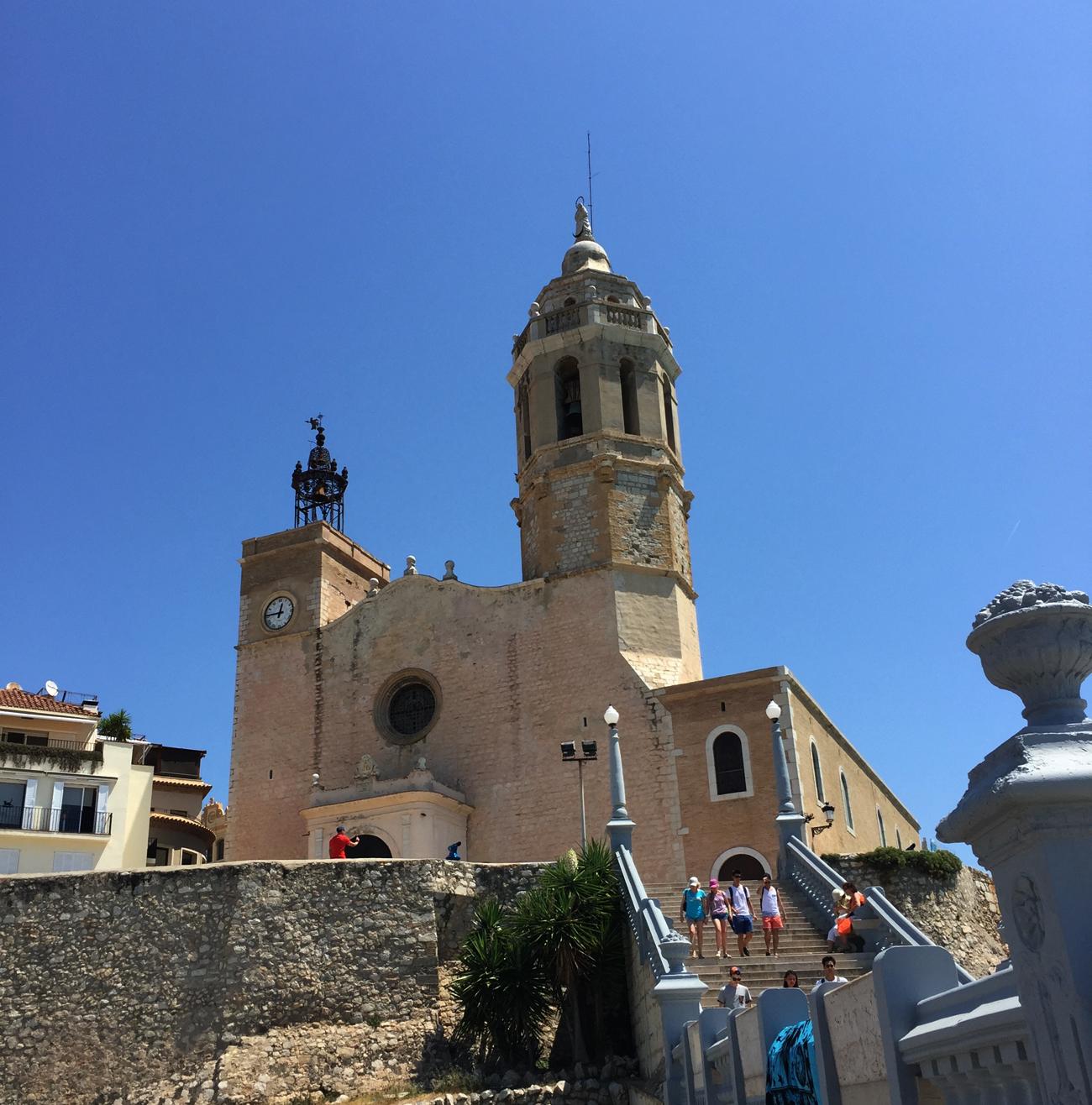 sitges-church