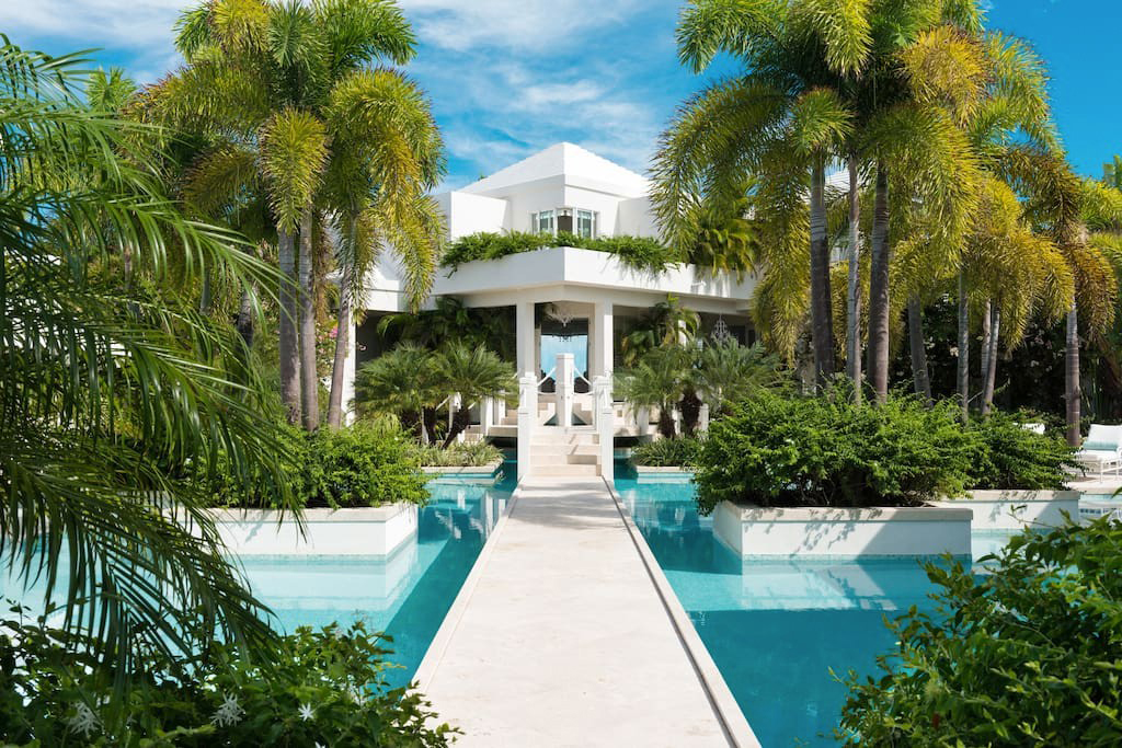 Turks and Caicos mansion
