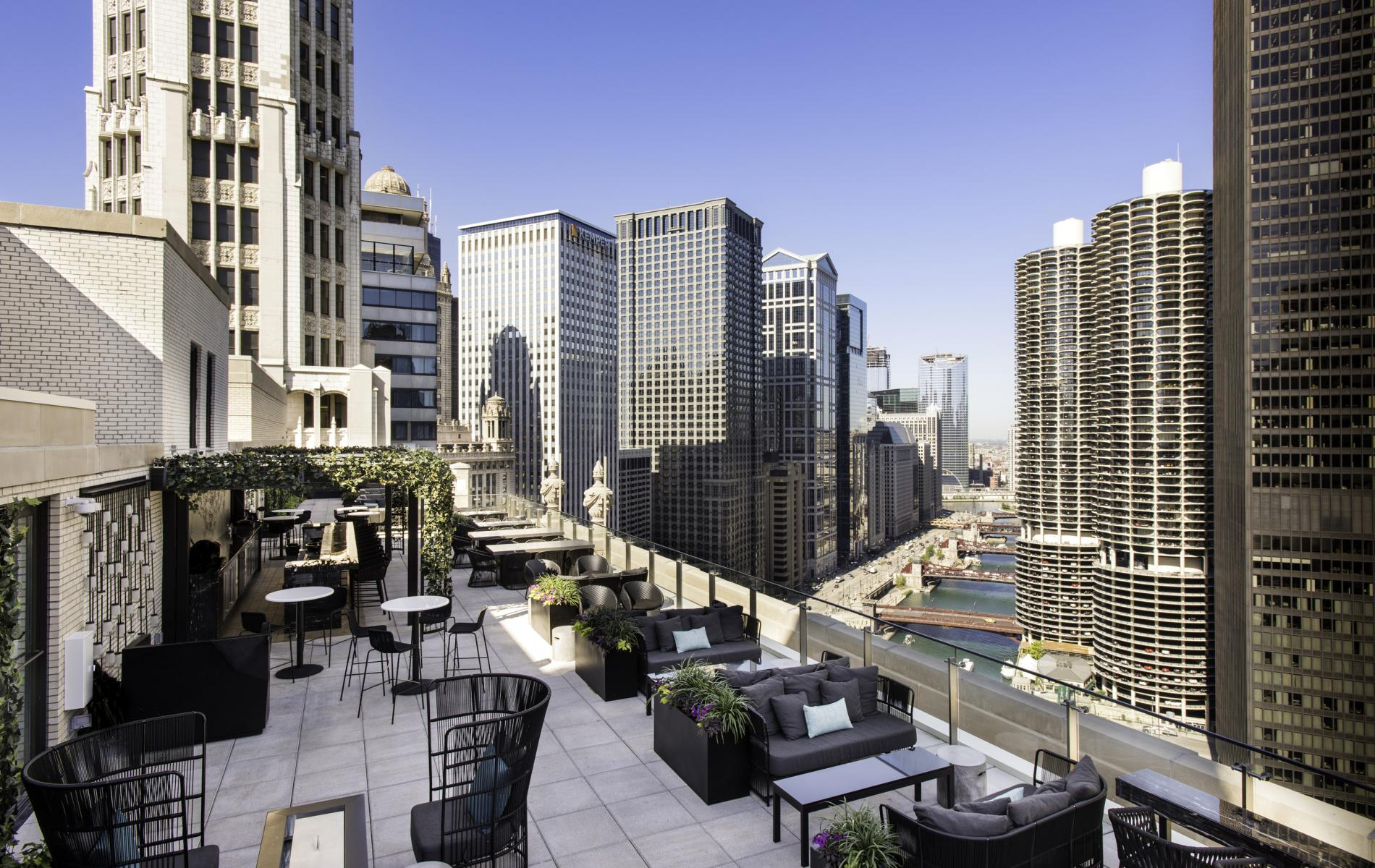 London House Chicago Rooftop Bar