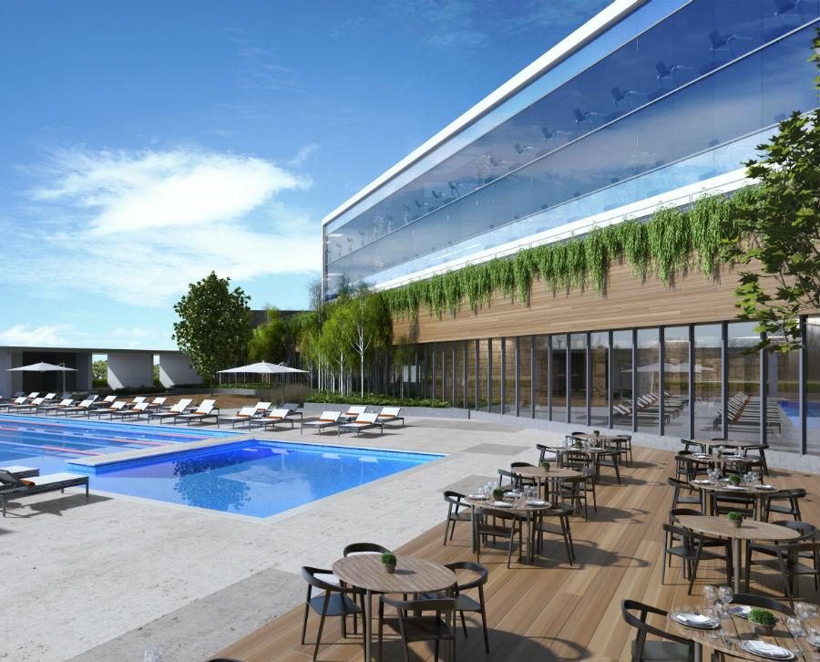 Pool at Hotel at Midtown