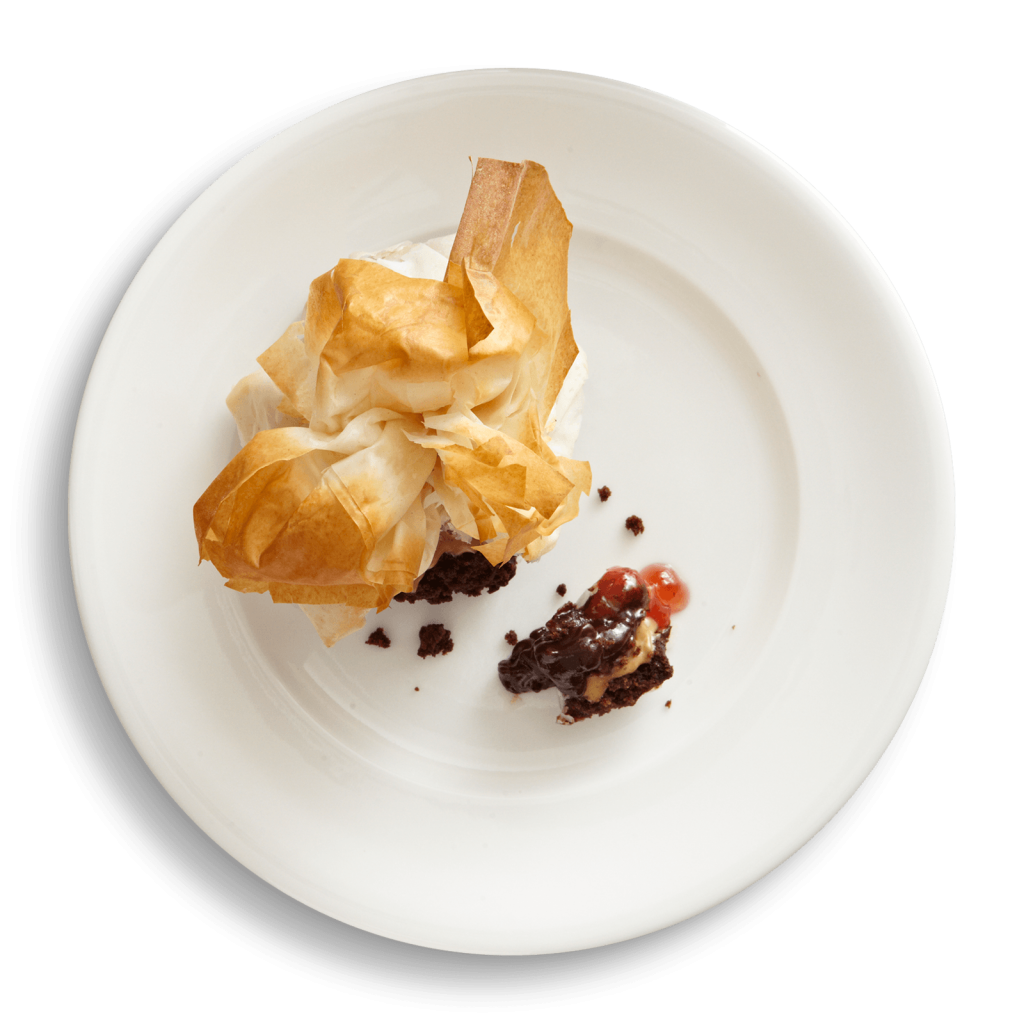 Pb&J In Phyllo at Cotton Row Restaurant