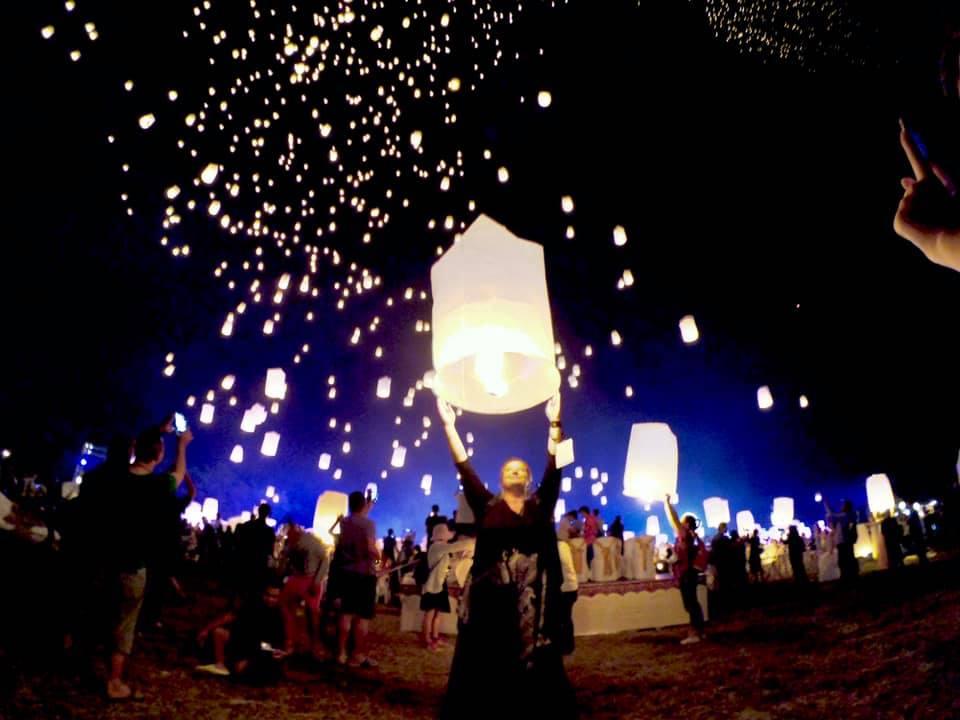 Chaing Mai Lantern Festival