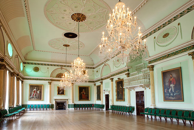 The Banqueting Room at Guildhall