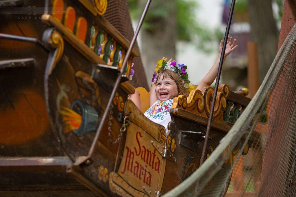 Rides at the Bristol Renaissance Faire