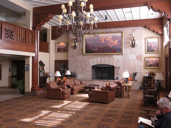 Lobby of The Grand Canyon Railway Hotel