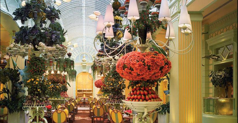The buffet at the Wynn Las Vegas