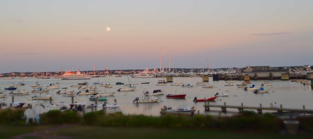 Nantucket Marina view