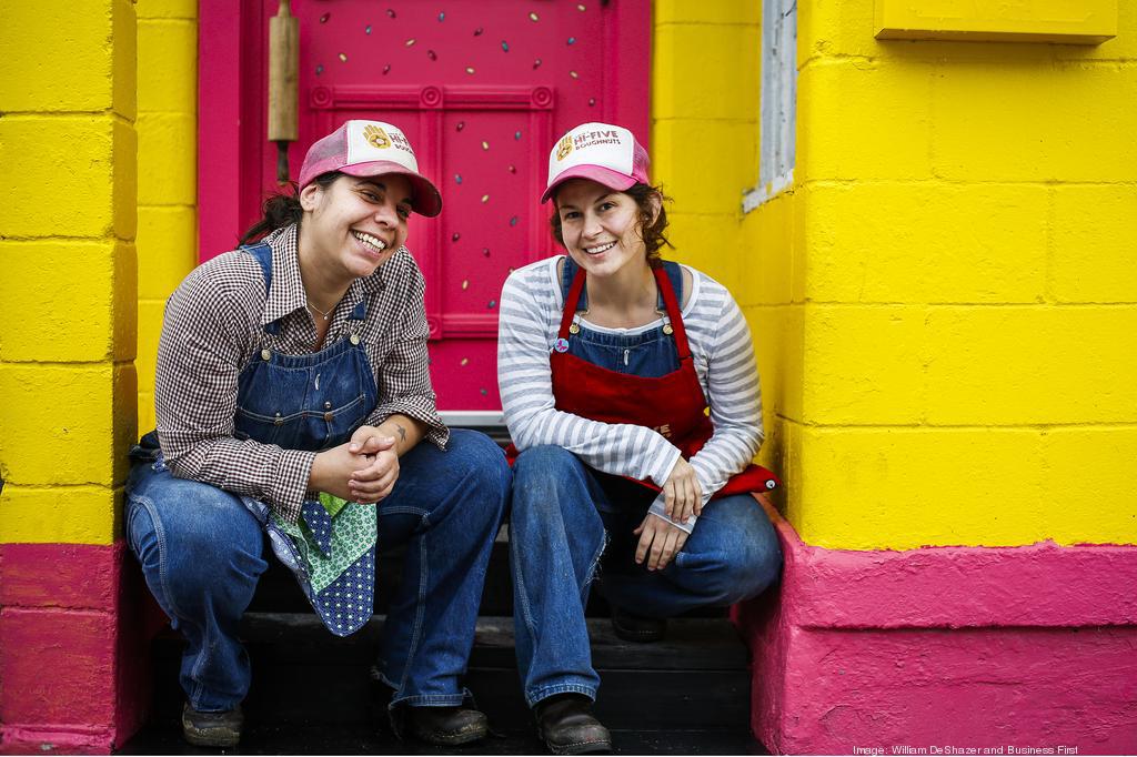 Hi-Five Doughnuts Louisville Owners Annie Harlow and Leslie Wilson