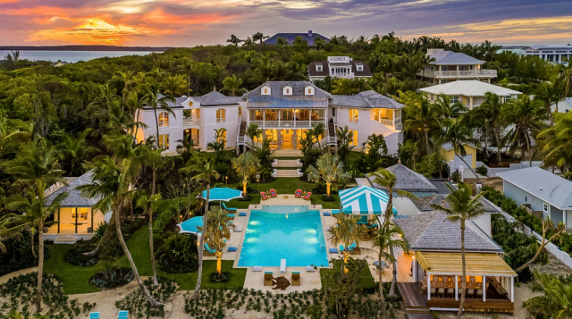 Kylie Jenner's Bahamas Vacation Rental