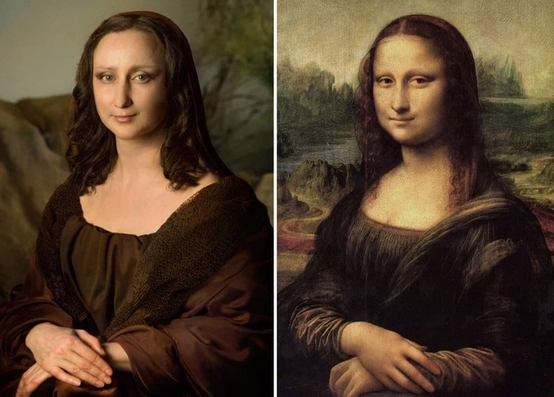 Mona Lisa Getty Museum Challenge