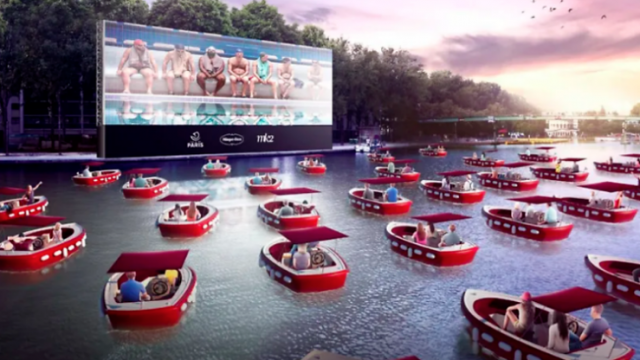 Floating Movie Theater Paris